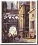 """""""L'invention du Vieux Paris"""" de Ruth Fiori chez Mardaga"""