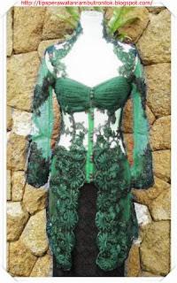 model kebaya modern brokat