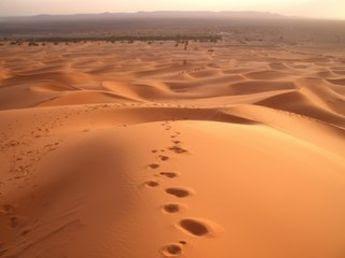 Caminaría a través de desiertos sólo por verte sonreír