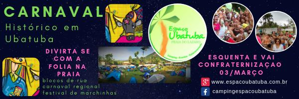 Carnaval Ubatuba 2019 - Camping Espaço Ubatuba