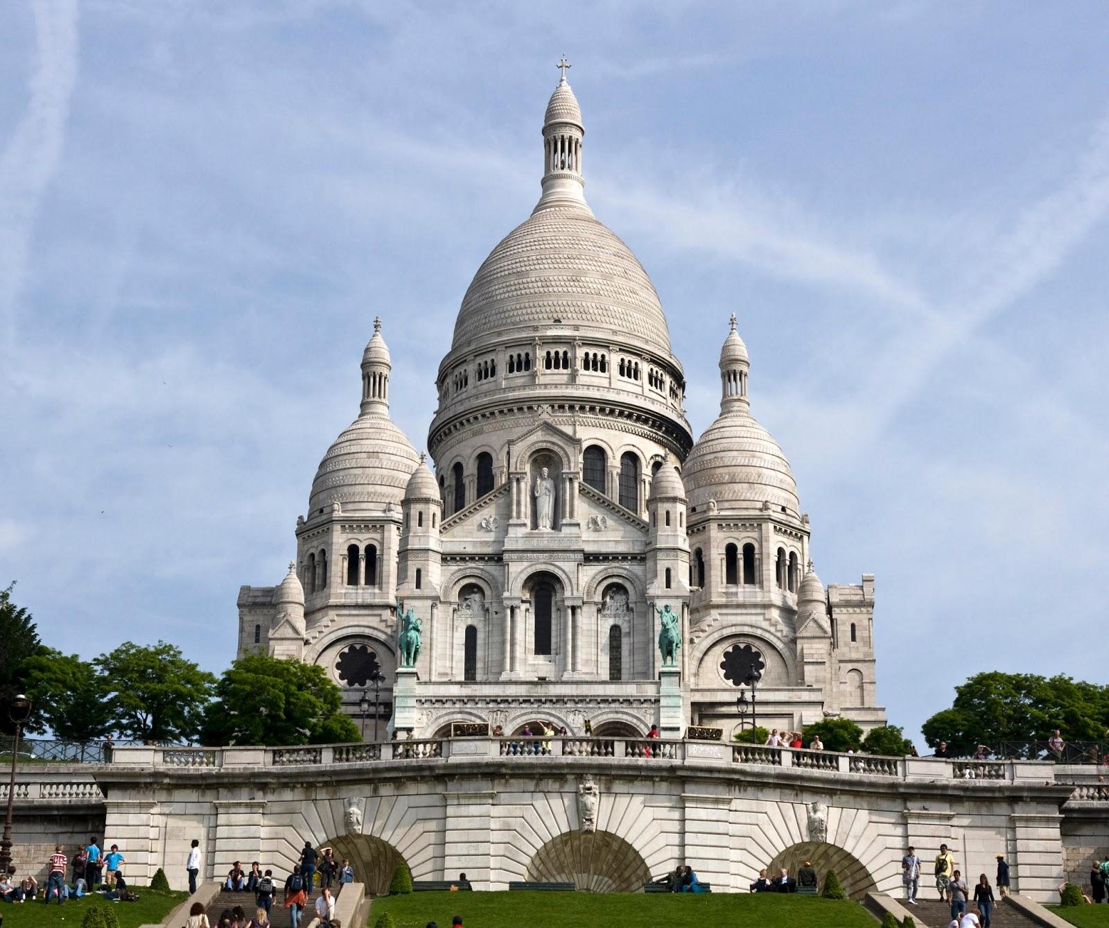 Sacre coeur basilica paris france travel and tourism for Les photos de paris