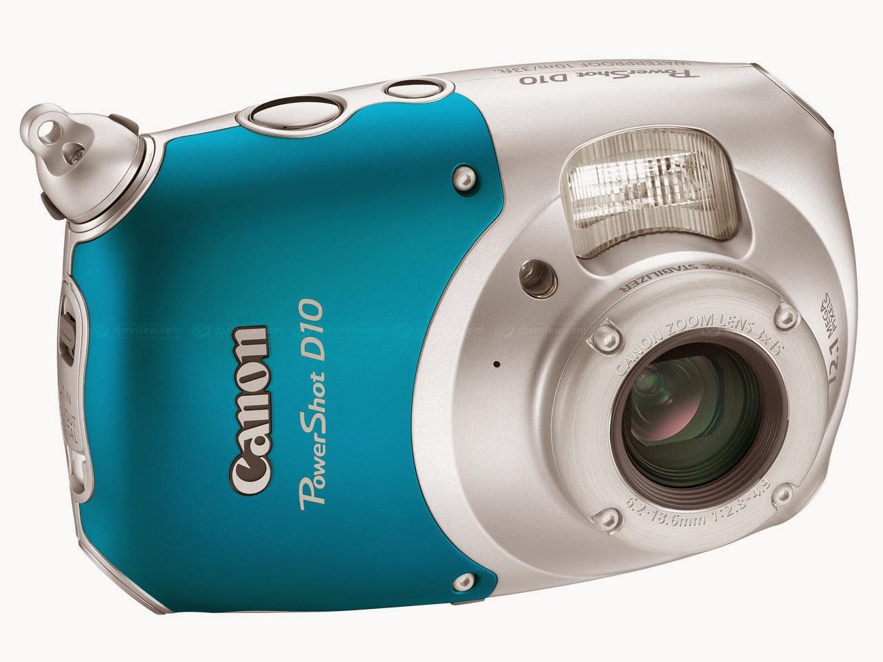 Canon Underwater D10 New Camera
