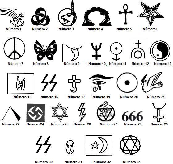 S mbolos da nova era perigo aos crist os - Equilibrio en japones ...