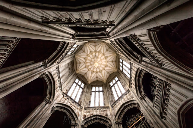 The Octagonal Tower at Margam Castle in South Wales by Martyn Ferry Photography