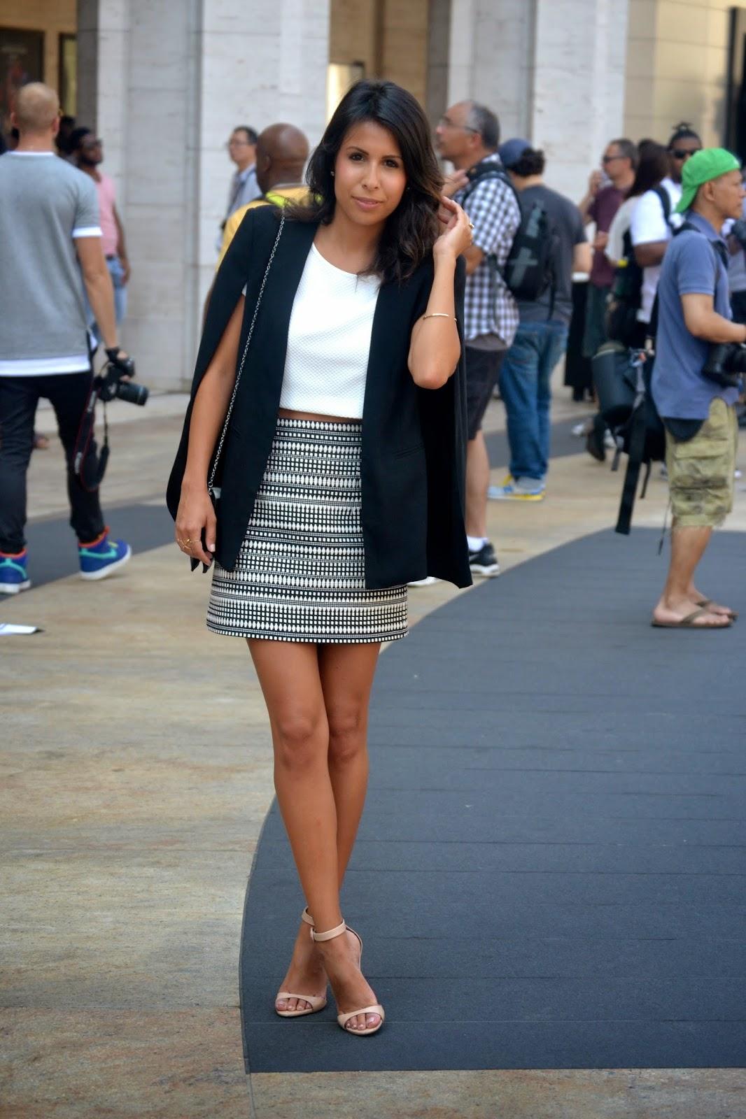 nyfw, fashion, bcbg, zara fall, capes, how to style