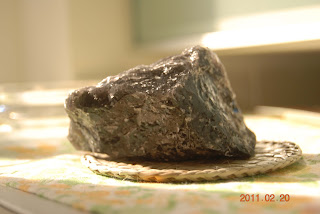 Volcanic rock from Nisyros, Dodecanese Greece
