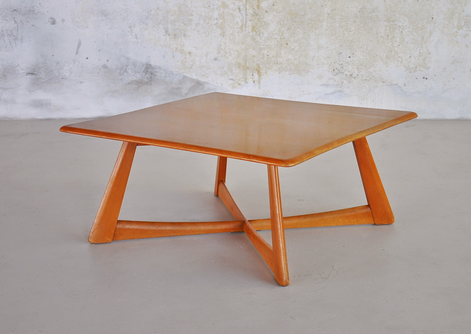 Select modern heywood wakefield coffee or cocktail table 1950s geotapseo Image collections