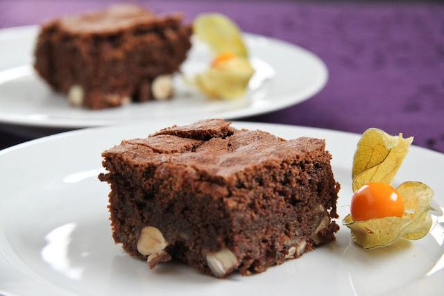 Čokoladni bownies s bananama