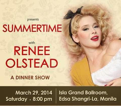 renee olstead summertime concert in shangri-la