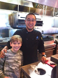 Master Chef Jr 2014 USA Logan and Chef Robbie