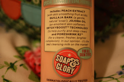 Soap and Glory Peaches and Clean Cleansing Facial Milk