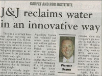 Water Reclamation the J&J Industries Way: Aquafinity
