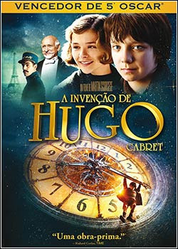 Download - A Invenção de Hugo Cabret DVDRip - AVI - Dual Áudio