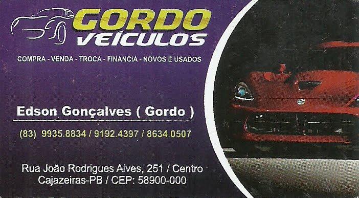 GORDO  ROVECOL UM DOS MAIORES  REVENDEDORES  DE CARRO  EM CAJAZEIRAS  PB