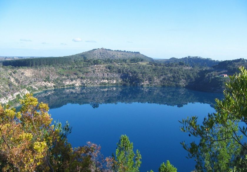 Mount Gambier Australia  city pictures gallery : Universe Beauty: Blue Lake Mount Gambier Australia