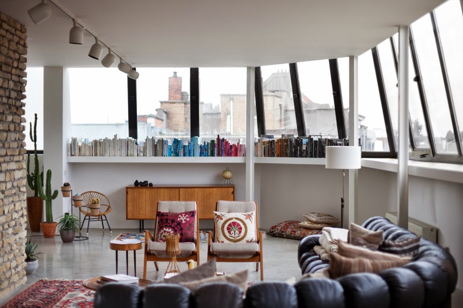 Interiors: Bruno Pieters'S Penthouse In Antwerp