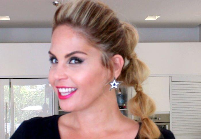 בלוג אופנה Vered'Style - סרטון הדרכה לתסרוקת מתוקה בערוץ היוטיוב שלי