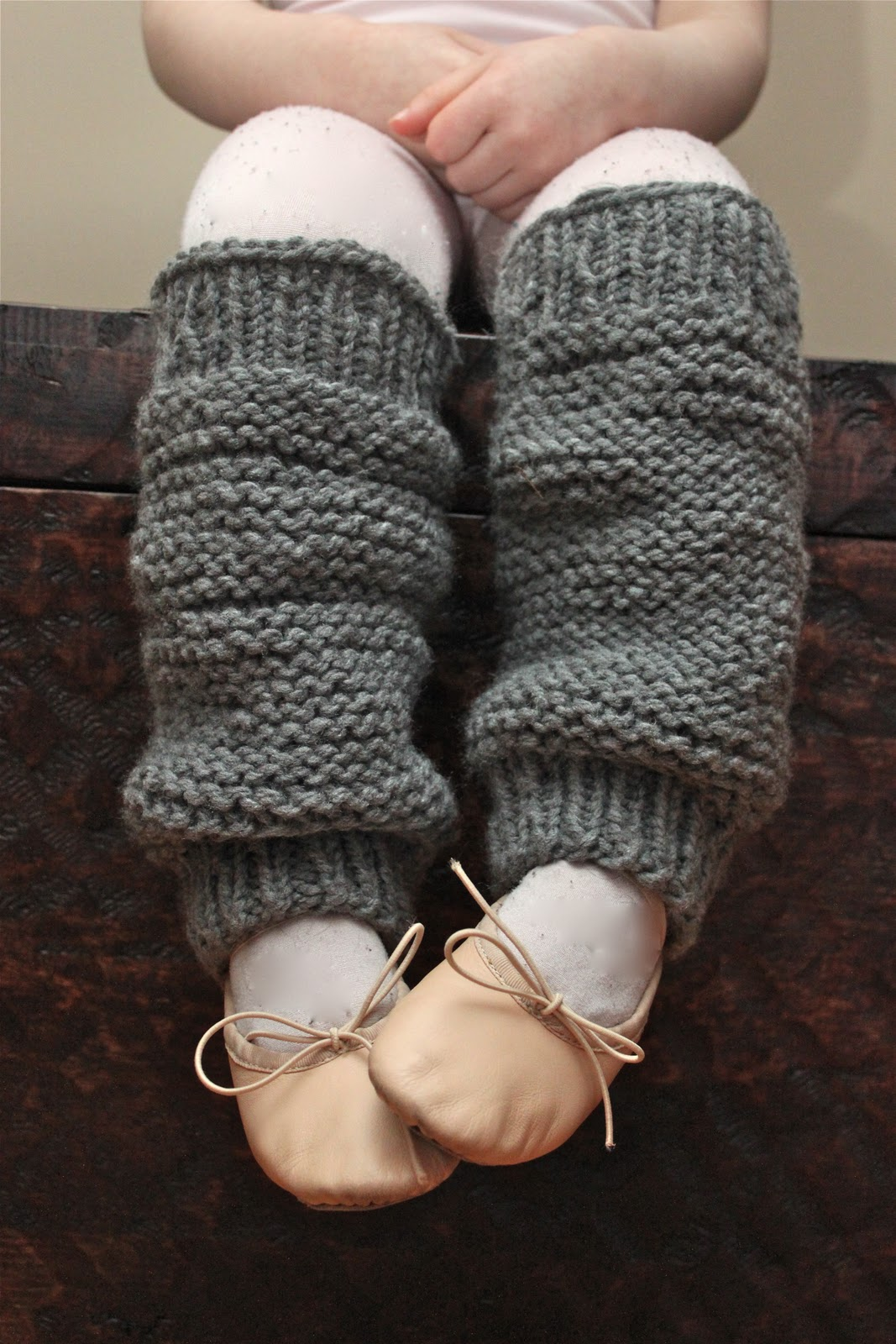 Little Girls Knit Legwarmers {A Pattern} - Smashed Peas & Carrots