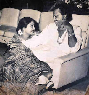 Kishor Kumar and Leena Chandavarkar