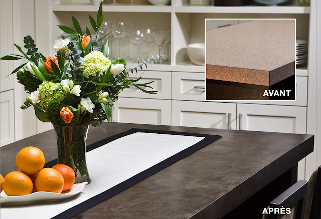 colobar peinture et d coration les comptoirs de b ton ont la cote. Black Bedroom Furniture Sets. Home Design Ideas