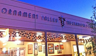 Cars Land Museum Doc Hudson Flo's