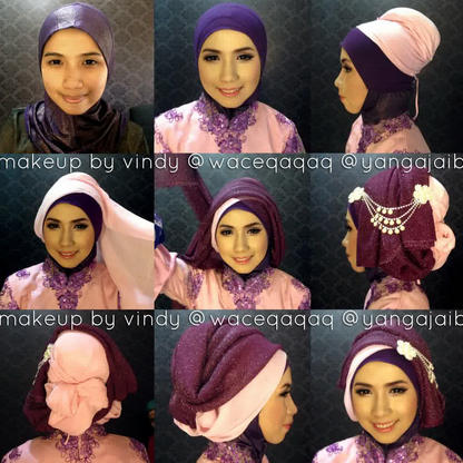 Tutorial Hijab Kebaya Cantik
