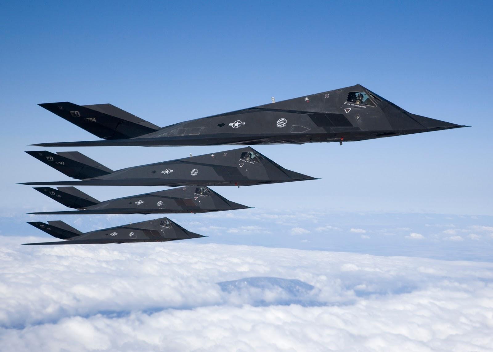 F-117 Nighthawk Stealth attack aircraft