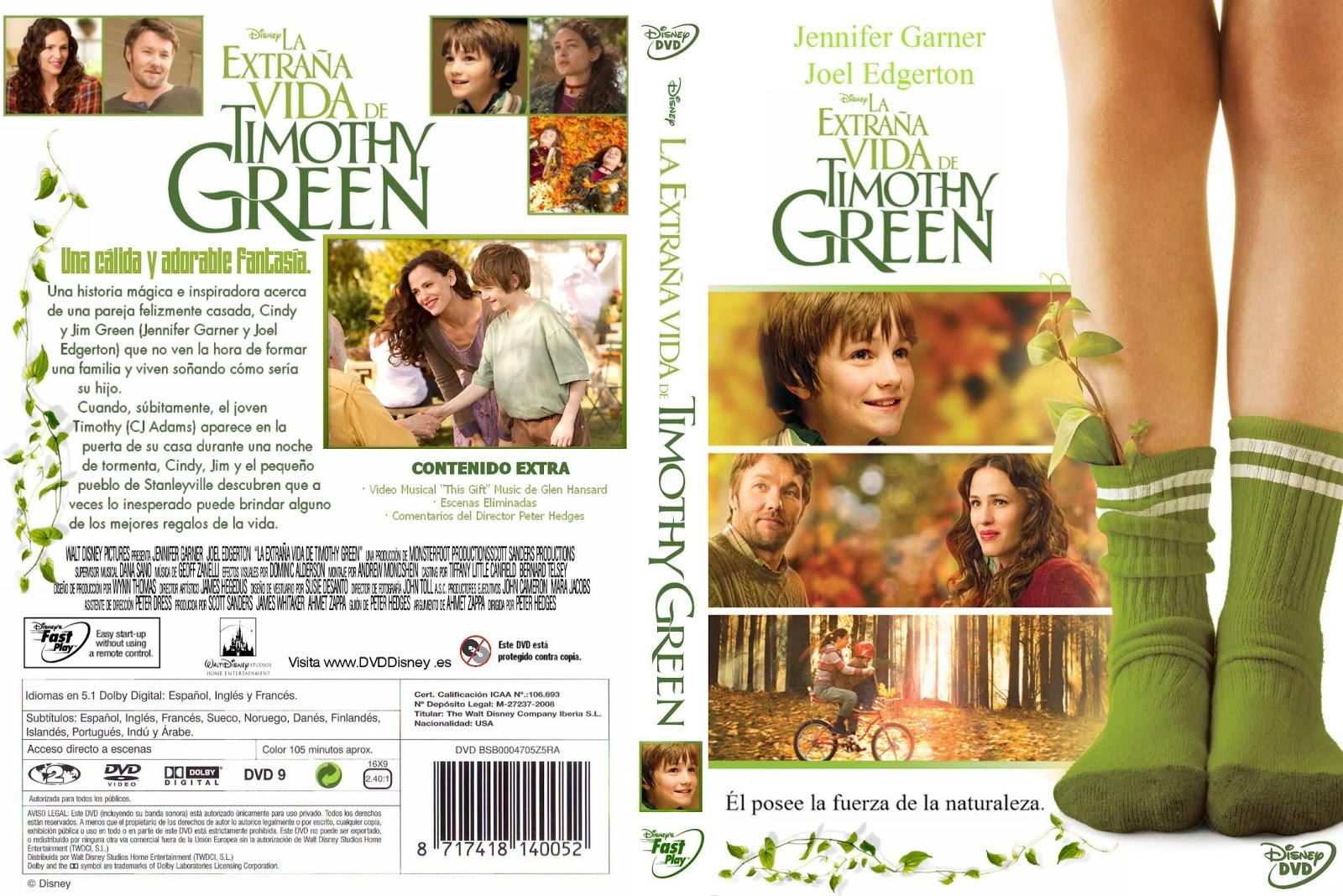 APORTE La Extraña Vida De Timothy Green completa latino