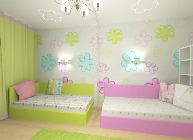 Дизайн комнаты 10 кв.м для двоих