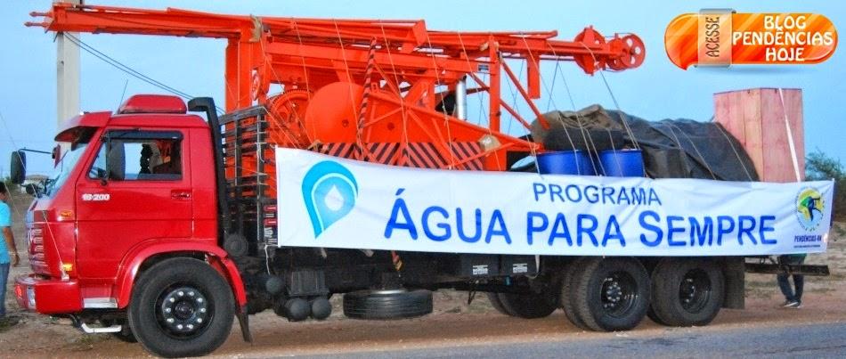 Prefeitura de Pendências recebe máquina perfuratriz, importante aliada para o combate à seca no mun