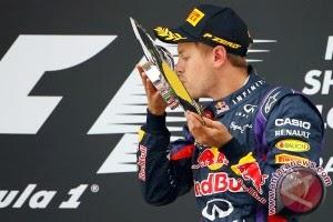 Hasil F1 GP Korea, Vettel kembali juara