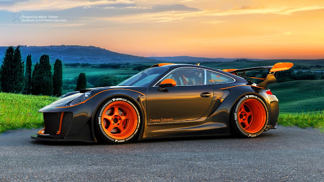 Porsche Digital Design HD Wallpaper