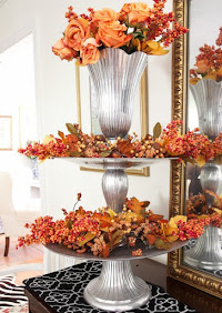 A Fall Tiered Tray