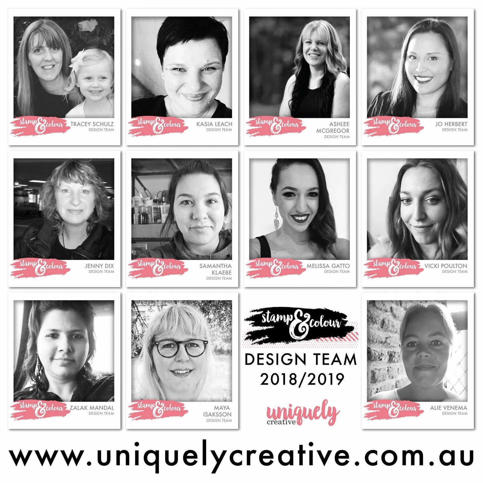 Uniquely Creative Stamp & Colour Design Team