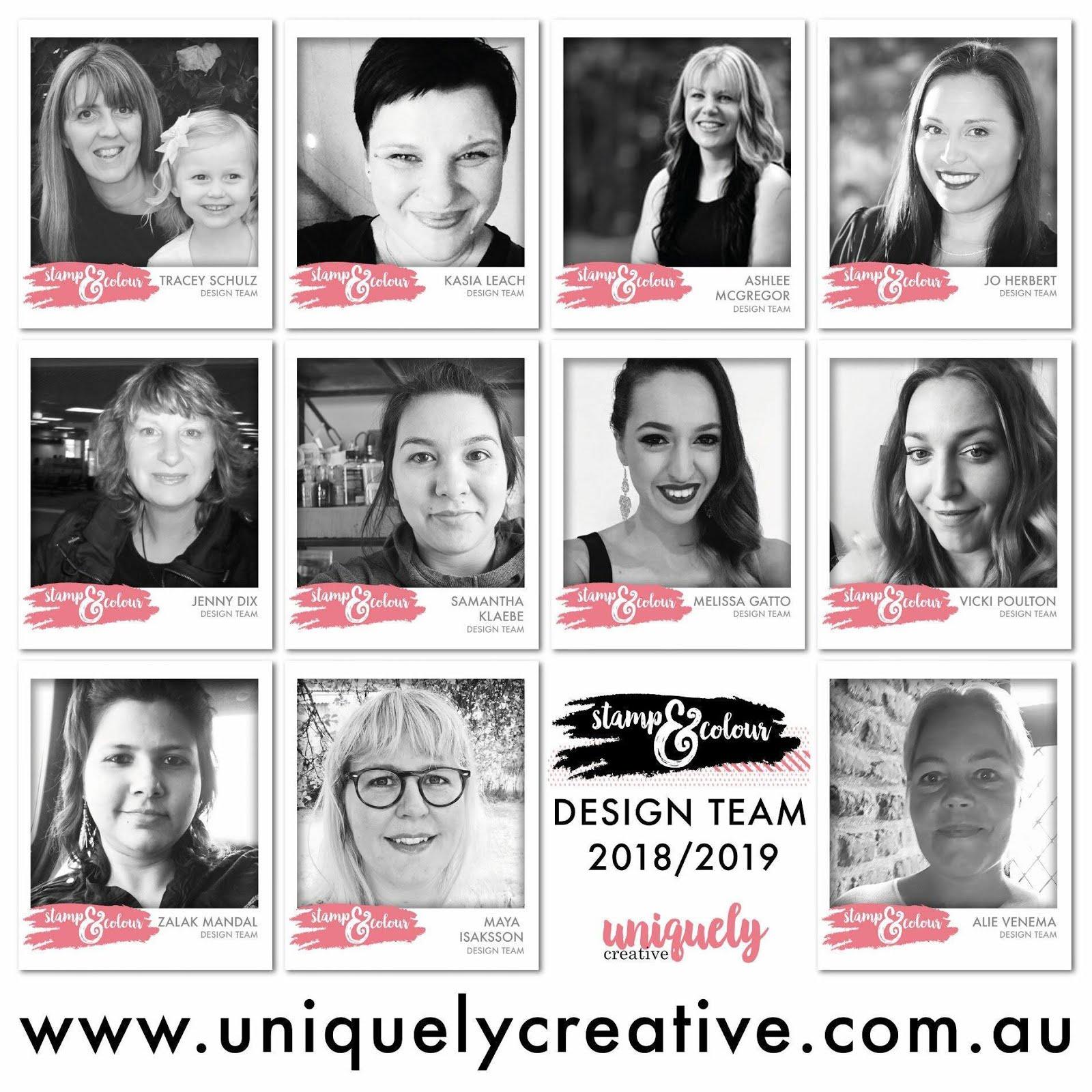 Uniquely Creative Stamp & Colour Design Team