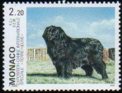 1993年モナコ公国 ニューファンドランドの切手
