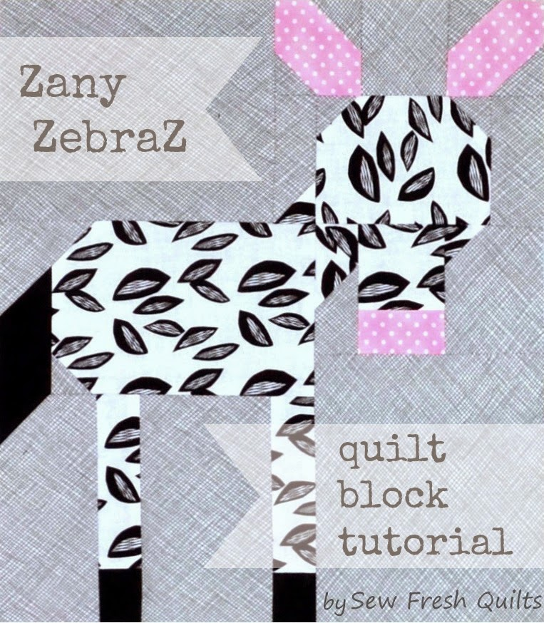 Zany ZebraZ block tutorial