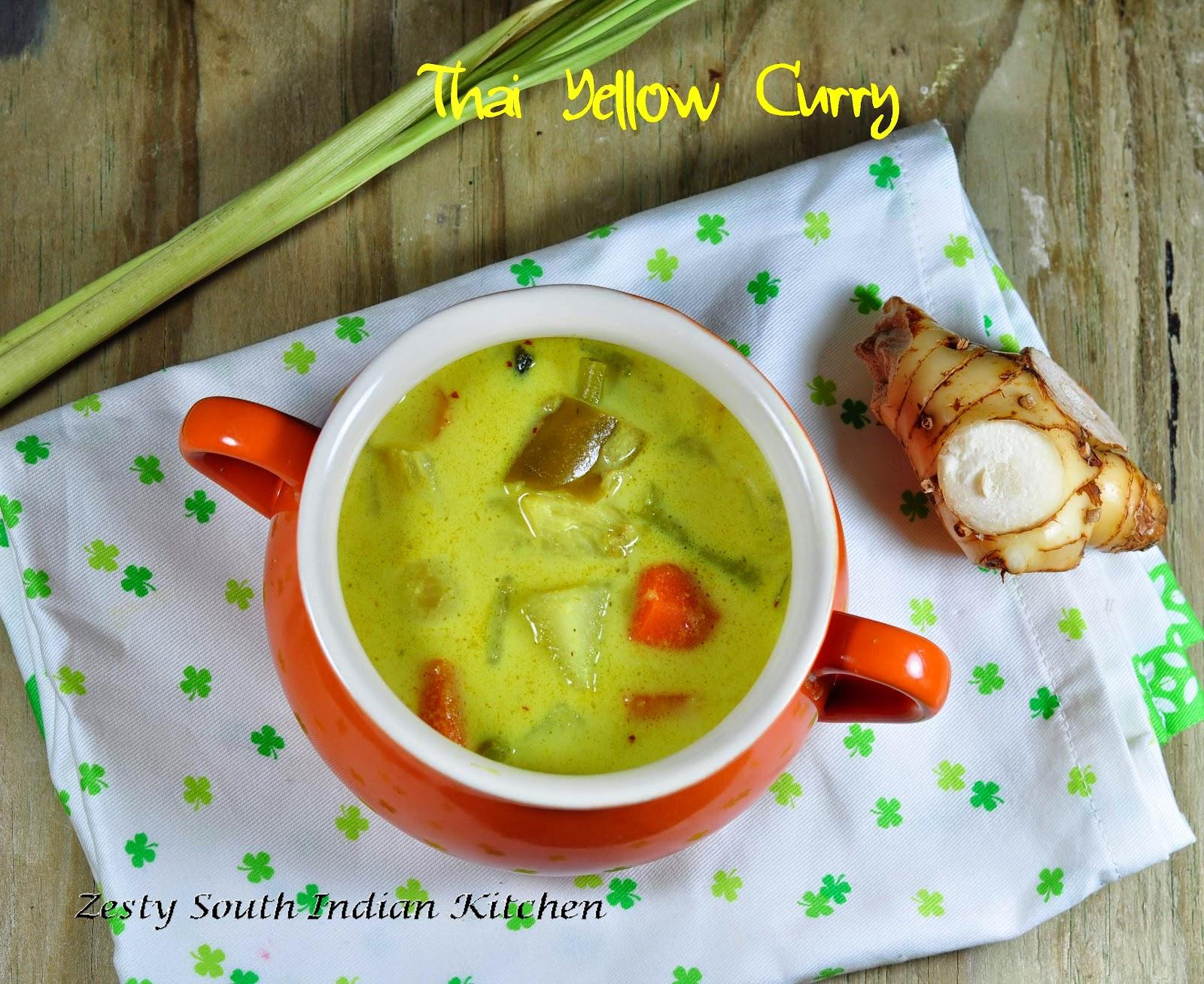 Thai Kitchen Yellow Curry Thai Yellow Curry With Vegetables Kaeng Kari Vegetarian Version