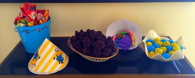 Ioanna's Notebook - Minion Birthday Party (Part 3) - Dessert & Drink recipes - chocolate truffles