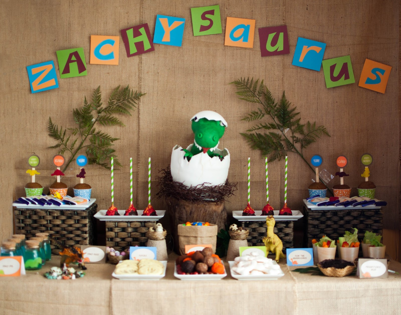 Little Big Company  The Blog: A Super cute Dinosaur Themed Birthday ...