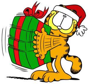Descomplic metro feliz natal pessoas - Garfield noel ...