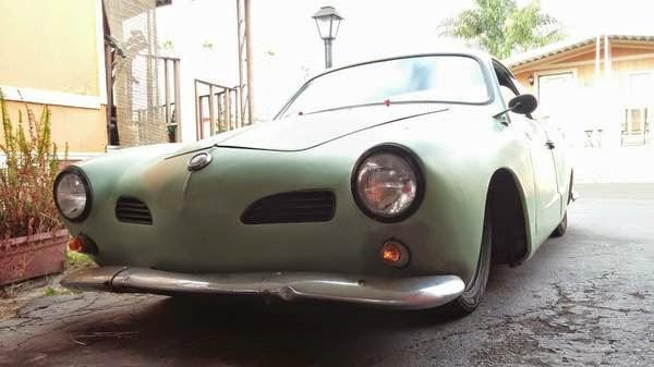 1960 Vw Karmann Ghia Rat Rod Drag Buy Classic Volks