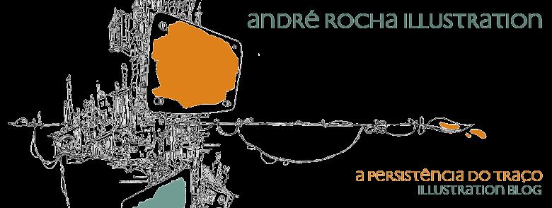 ANDRÉ ROCHA ILLUSTRATION - a persistência do traço