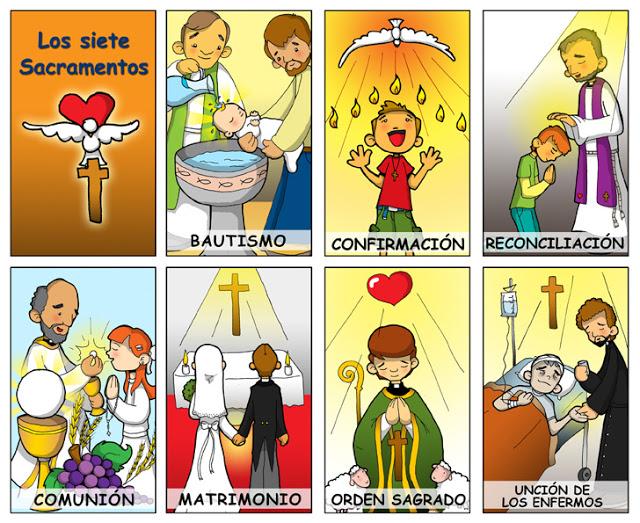 Los 7 Sacramentos Blog De Los Recursos De Jesus Maria