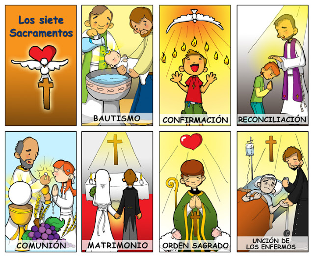 Matrimonio Catolico Resumen : Los sacramentos de recursos jesus maria