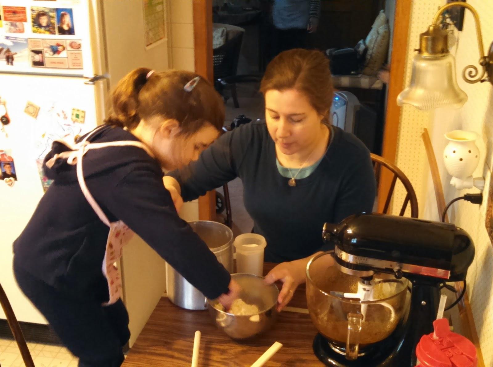 making Lebkuchen
