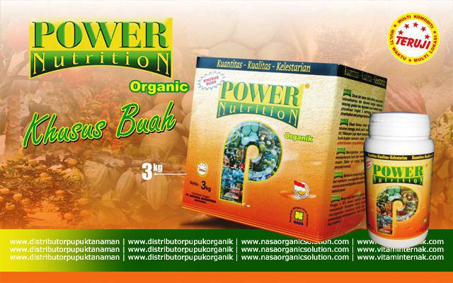 Power Nutrition dari NASA adalah nutrisi lengkap khusus untuk tanaman buah