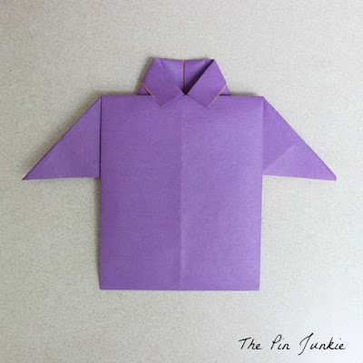 How to make an origami shirt