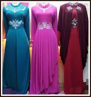Trend Model Baju Gamis Muslim Terbaru 2013