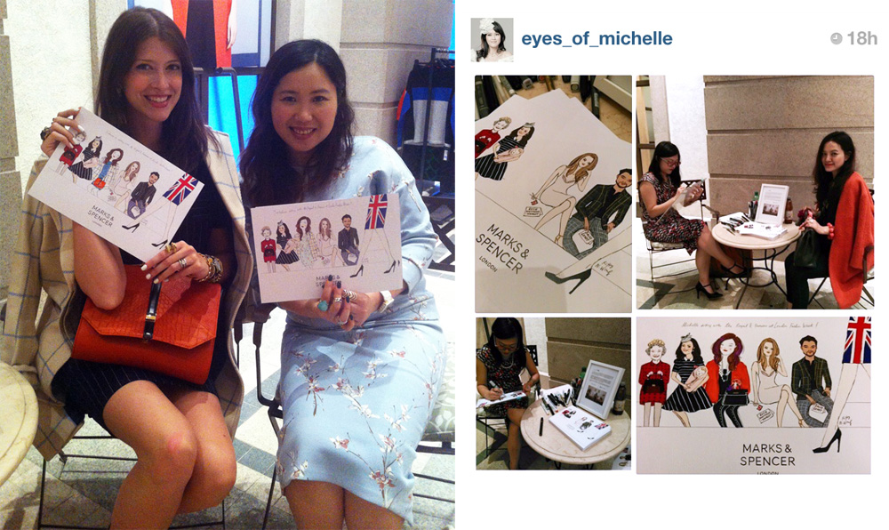 Kitty N. Wong / Marks and Spencer Illustration Guests